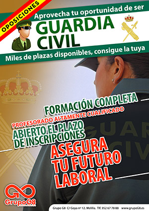 oposiciones guardia civil melilla